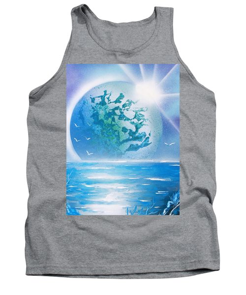 Blue Moon Tank Top by Greg Moores