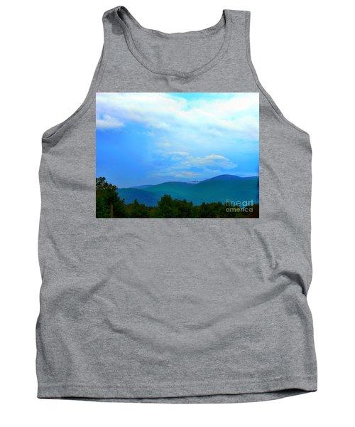 Tank Top featuring the photograph Blue Ridge Mountains by Judy Palkimas