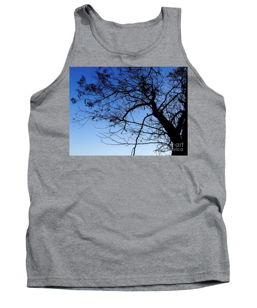 Tank Top featuring the photograph Blue Sky by Andrea Anderegg