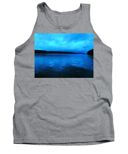 Blue Water In The Morn  Tank Top by Jeff Swan