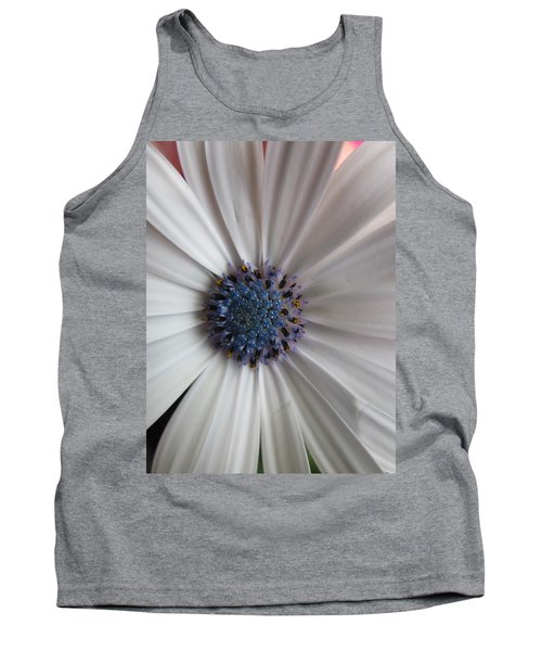 Blue-white Loveliness Tank Top