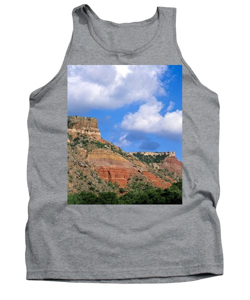 Bluffs In The Glass Mountains Tank Top