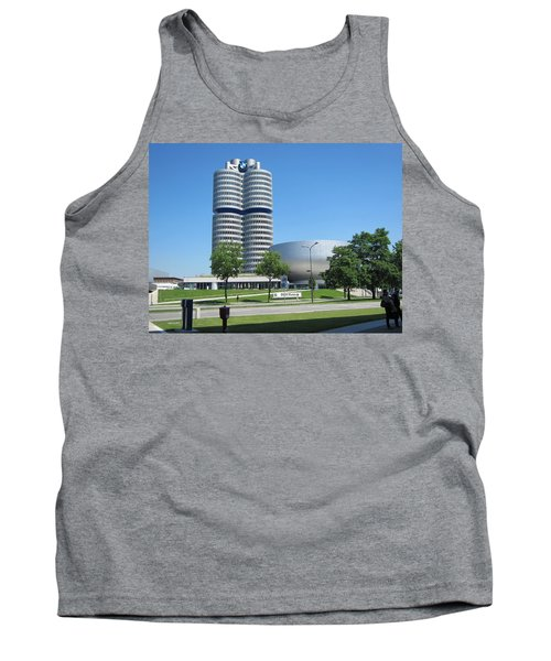 Tank Top featuring the photograph Bmw Head Quaters by Pema Hou