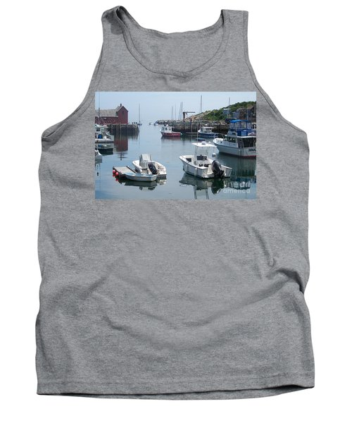 Tank Top featuring the photograph Boats On The Water by Eunice Miller