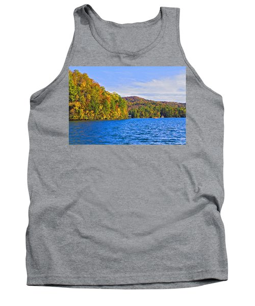 Boating In Autumn Tank Top