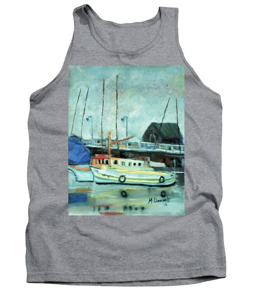 Boats At Provincetown Ma Tank Top