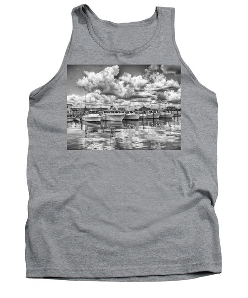 Tank Top featuring the photograph Boats by Howard Salmon