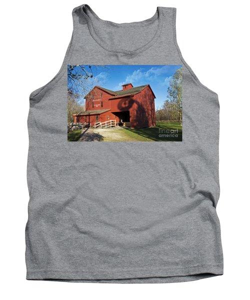 Bonneyvill Mill And Windmill Shadow Tank Top