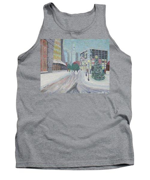 Boston First Snow Tank Top