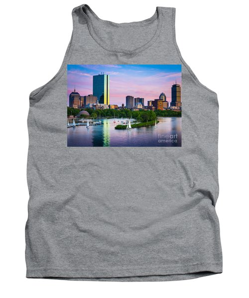 Boston Skyline Tank Top