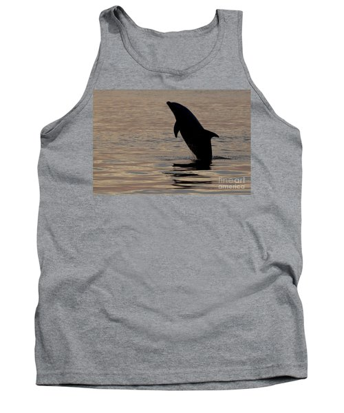 Tank Top featuring the photograph Bottlenose Dolphin by Meg Rousher