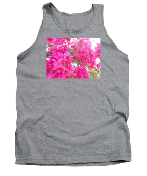 Tank Top featuring the photograph Bougainvillea by Kay Gilley