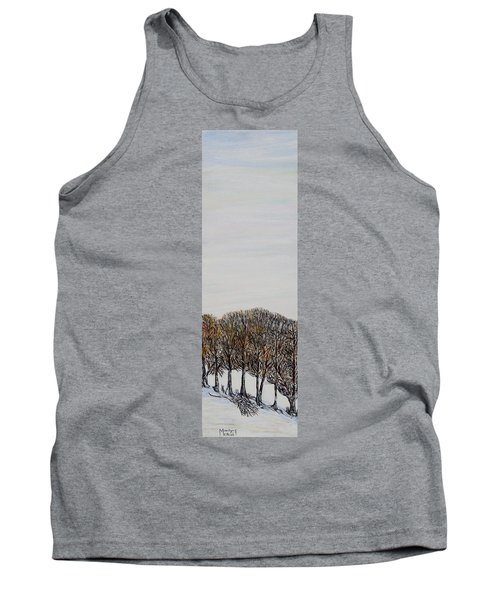 Tank Top featuring the painting Branch Broken by Marilyn  McNish