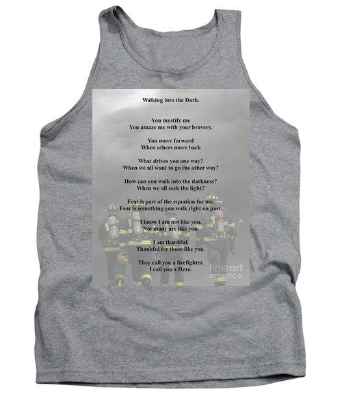 Brave Poem Tank Top