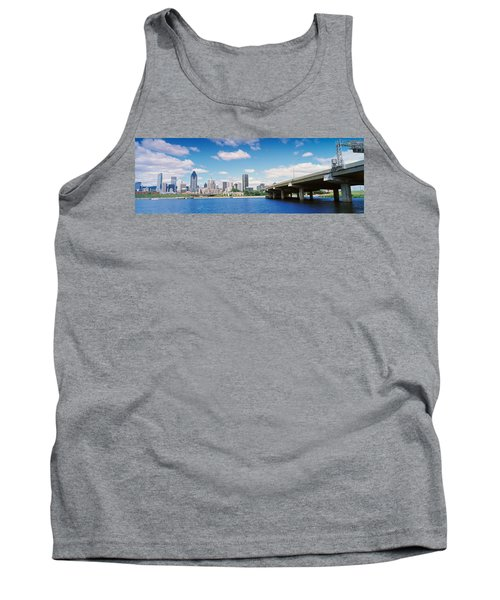 Bridge Across A Canal, Lachine Canal Tank Top