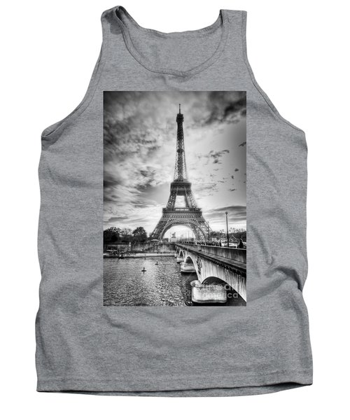 Bridge To The Eiffel Tower Tank Top