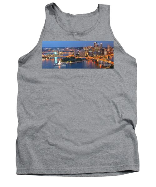 Bridge To The Pittsburgh Skyline Tank Top