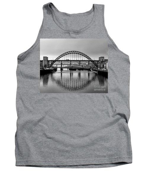 Bridges Over The River Tyne Tank Top by Lynn Bolt