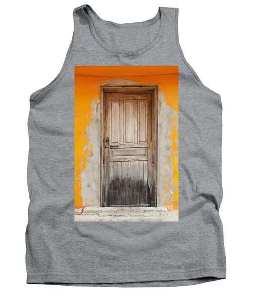 Brightly Colored Door And Wall Tank Top