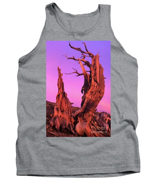 Tank Top featuring the photograph Bristlecone Pine At Sunset White Mountains Californa by Dave Welling