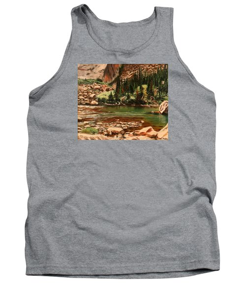 Broadwater Pond Tank Top by Patti Gordon