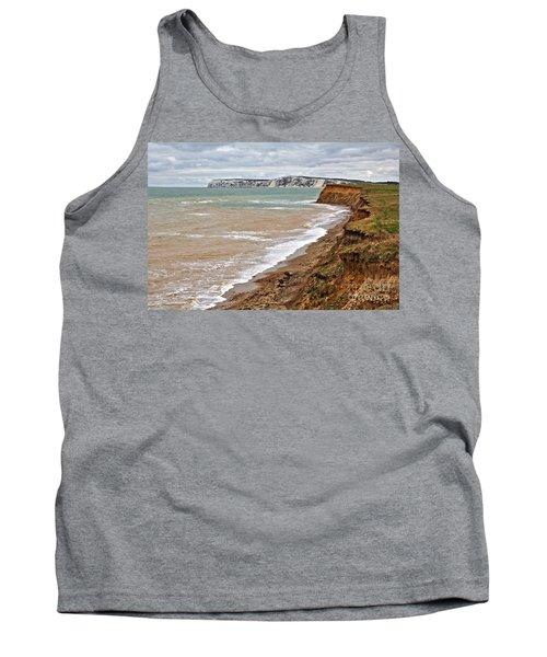 Brook Bay And Chalk Cliffs Tank Top
