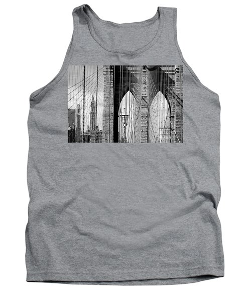 Brooklyn Bridge New York City Usa Tank Top
