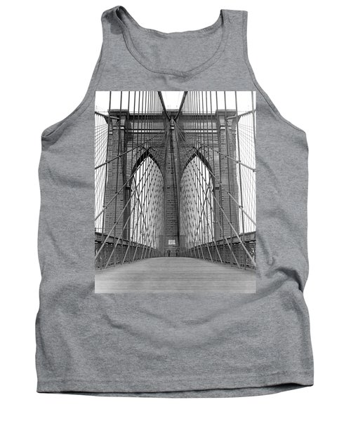 Brooklyn Bridge Promenade Tank Top