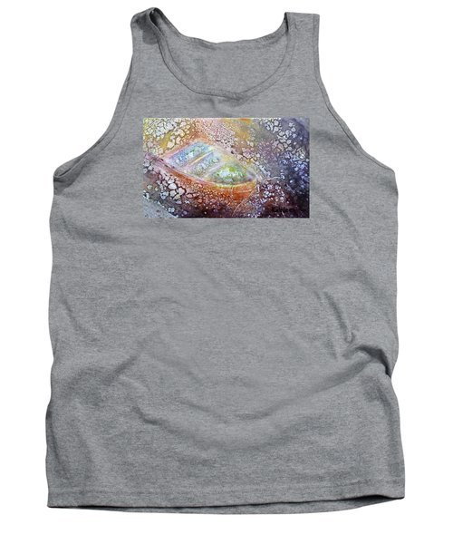 Tank Top featuring the painting Bubble Boat by Kathleen Pio