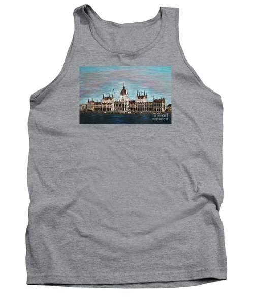 Budapest Parliament By Jasna Gopic Tank Top by Jasna Gopic