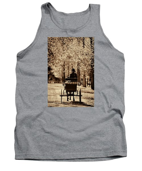 Tank Top featuring the photograph Buggy Ride by Joan Davis