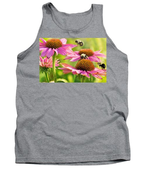 Bumbling Bees Tank Top by Bill Pevlor