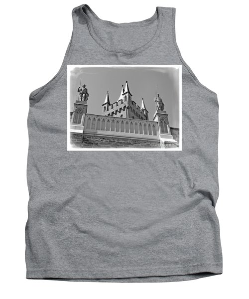 Tank Top featuring the photograph Burg Hohenzollern by Carsten Reisinger