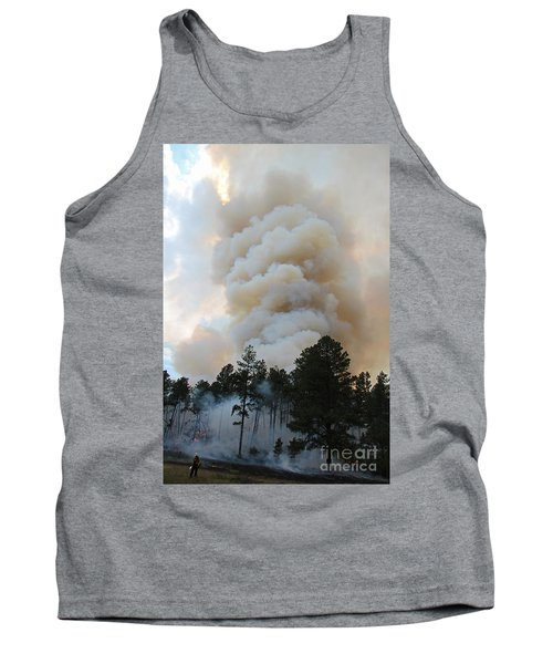 Tank Top featuring the photograph Burnout Near Song Dog Road by Bill Gabbert