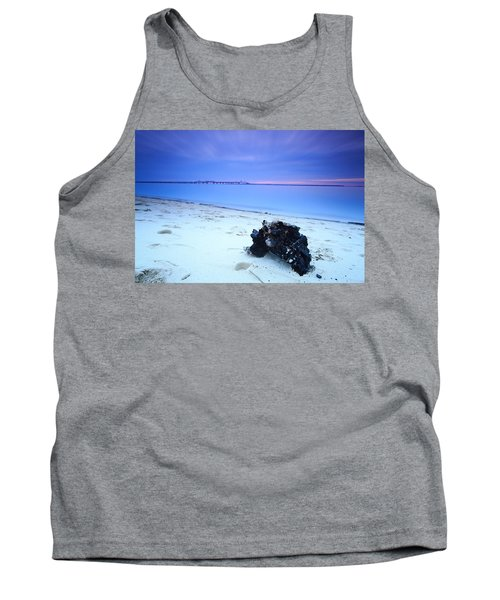 Burnt Driftwood Sunset Tank Top