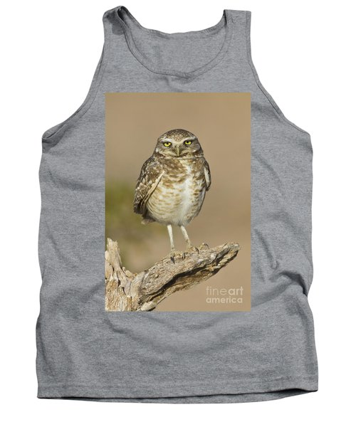 Tank Top featuring the photograph Burrowing Owl by Bryan Keil