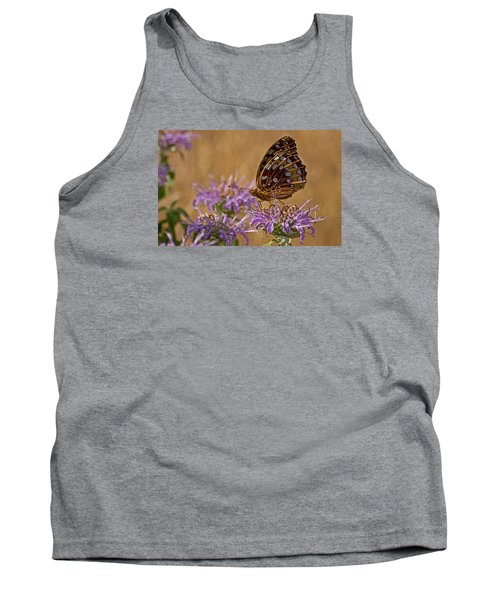 Butterfly On Bee Balm Tank Top