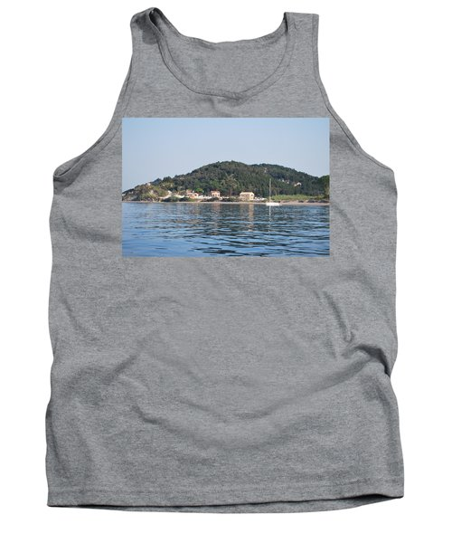 Tank Top featuring the photograph By The Sea by George Katechis