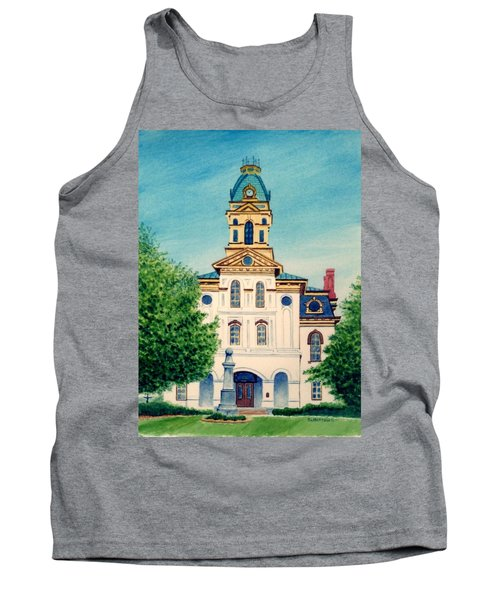 Cabarrus County Courthouse Tank Top