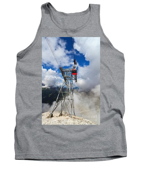 cableway in Italian Dolomites Tank Top
