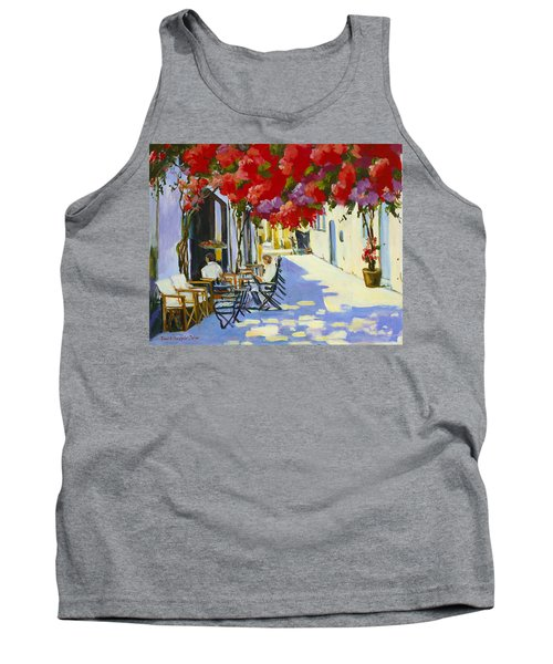 Cafe Tank Top by Alexandra Maria Ethlyn Cheshire