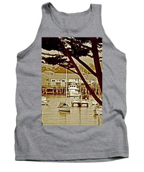 California Coastal Harbor Tank Top