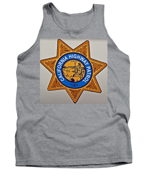 California Highway Patrol Tank Top
