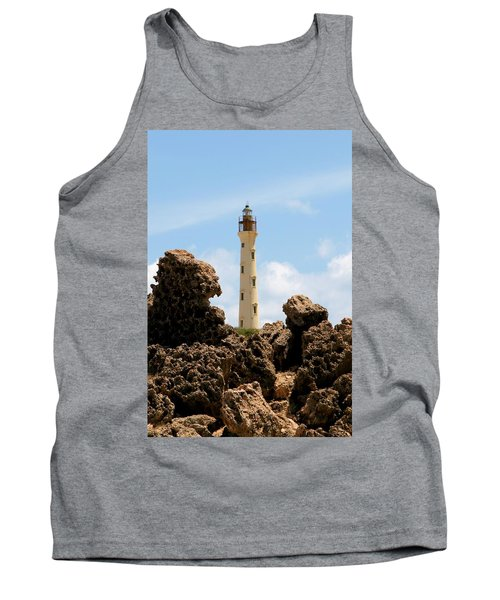 California Lighthouse Aruba Tank Top