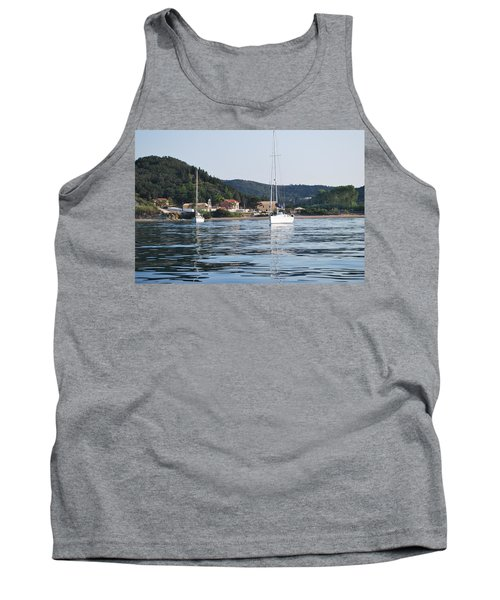 Calm Sea 2 Tank Top by George Katechis
