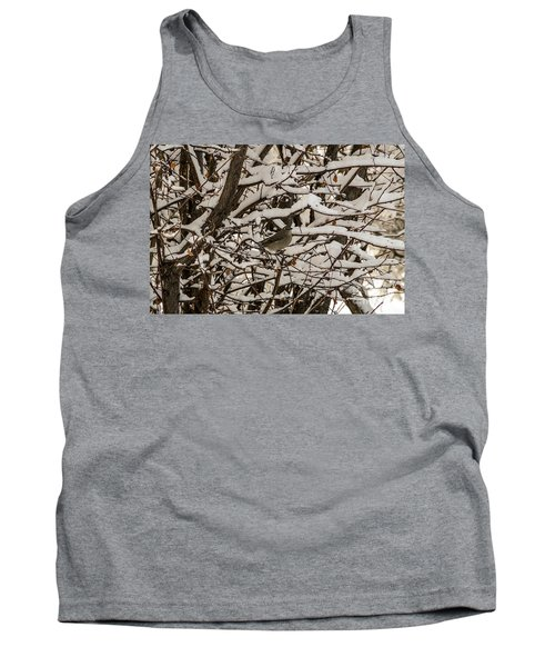 Camouflaged Thrush Tank Top