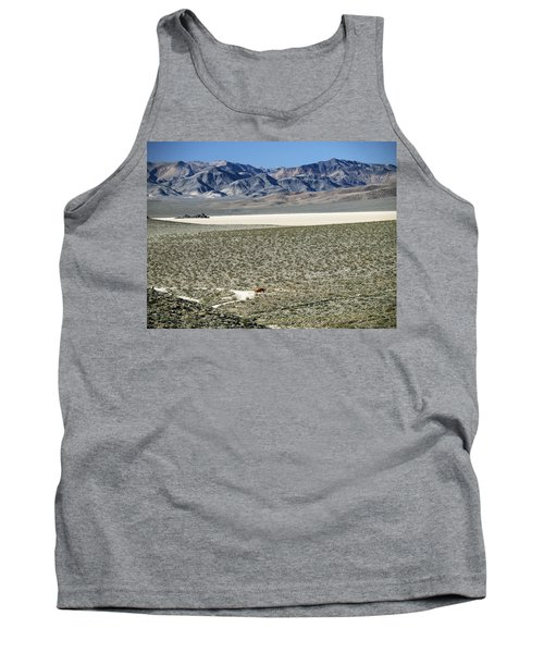Camped At The End Of The Road Tank Top by Joe Schofield