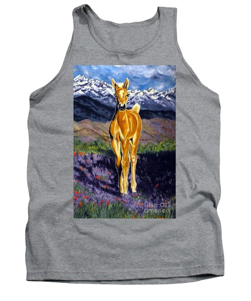 Candy Rocky Mountain Palomino Colt Tank Top