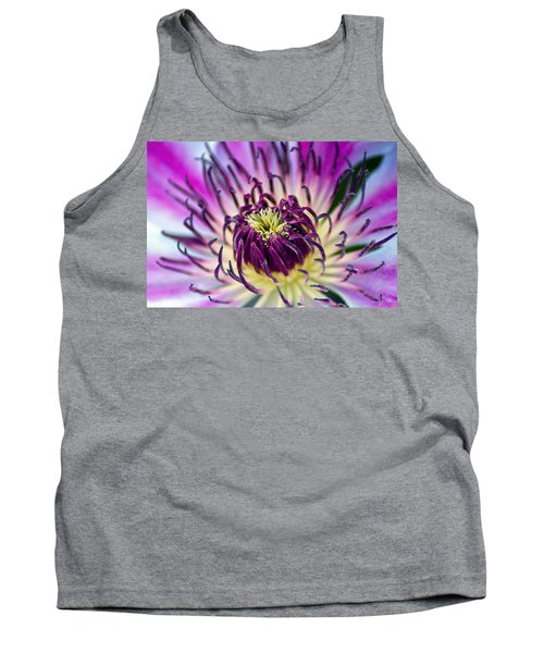 Candy Stripe Clematis Tank Top