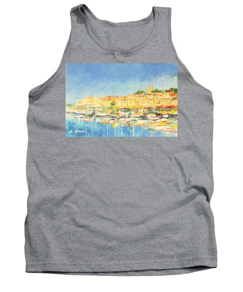 Cannes Harbour Tank Top